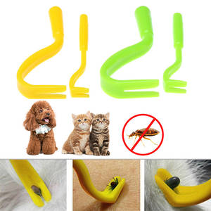 Hook Tick-Remover-Tool Pet-Supplies Dog Horse Human Portable Cat Plastic Lice 2pcs Home