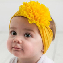 Baby Headband Toddler Girls Flower Hair Bands for