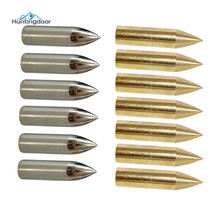 Broadhead-Arrow-Head Tip-Points Shooting Traditional Coppering Wood/bamboo 6PCS Gold