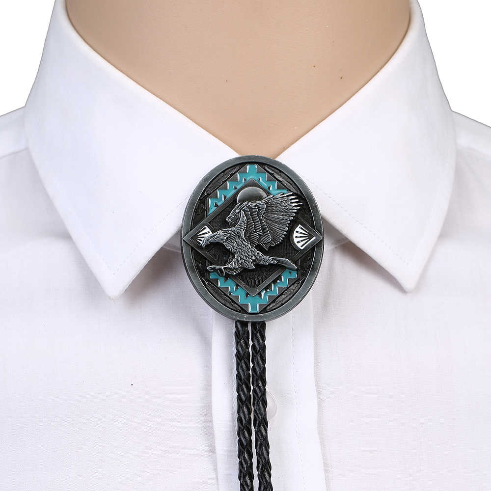 Indian Eagle Bolo s Rodeo Dance Bola  Western Cowboy Necktie Bootlace  US  A
