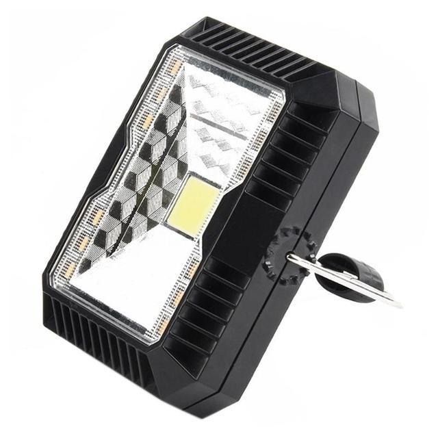 Portable Lantern Camping Light USB Solar Charging Flashlight Camping Tent Light Outdoor Portable Hanging Lamp Solar LED Lantern 3