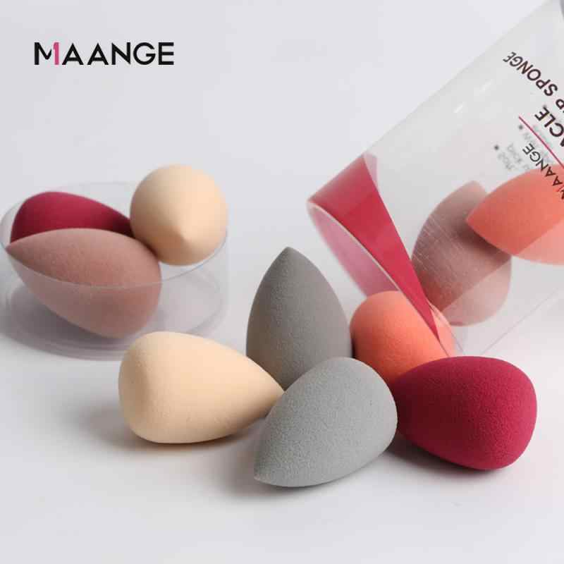 10Pcs Water Drop Shape Cosmetische Puff Gezicht Vloeibare Foundation Crème Make-Up Spons Mengen Poeder Bladerdeeg Make-Up Beauty Tools TSLM2