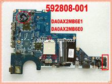 592808-001 623915-001 Voor Hp CQ56 G56 CQ62 G62 Laptop Moederbord DA0AX2MB6E1 DA0AX2MB6E0 CQ56-115DX G56-122US Notebook