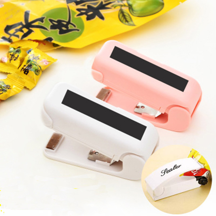 EBay Portable Mini Sealing Machine Snacks Plastic Bag Sealing Machine Household Hand Pressure Hot Sealing Machine Small Sealing