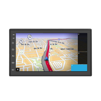 7inch Bluetooth FM Universal Car Player Stereo LCD Display GPS Radio Double Din HD Backup Camera Navigation MP5 For Android 8.1