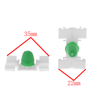 20x Side Door Moulding Trim Clips Retainers for BMW E36 E46 E39 51131960054 image