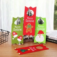 Merry Christmas Non-wovens Fabric Door Hanging Atmosphere Decor Santa Claus supply dropshiping