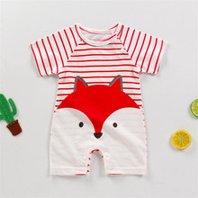 Baby Rompers 2020 Summer New Toddler's Short Sleeve Cotton Bottoming Climbing Clothes Newborn Boys Girls Jumpsuit&clothing newborn baby baby boys girls summer clothes pure cotton go out rompers short sleeved jumpsuit baby boys climbing clothes pajamas