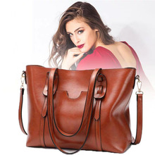 2019 Oil wax Women's Leather Handbags luxury Women Hand bag With wallet lady Crossbody bag tote bag high quality casual women luggage suitcase luxury ladies Spain brand shoulder bag ladies large Messenger Bags Bolsos