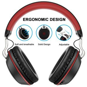 Image 2 - Oneodio Bluetooth Headphone With Microphone Sport Wireless Headset Bluetooth 5.0 Over Ear Stereo Bass Headphones Handsfree Calls