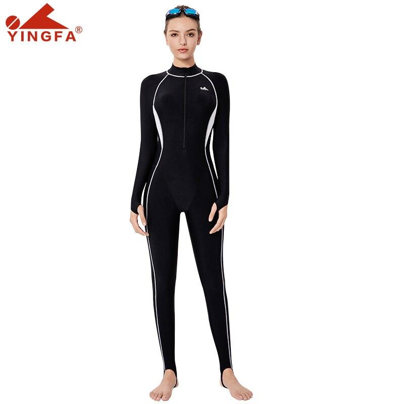 Yingfa 2020 nouvelle combinaison de plongée hiver à manches longues combinaison prévenir les méduses combinaison de plongée en apnée