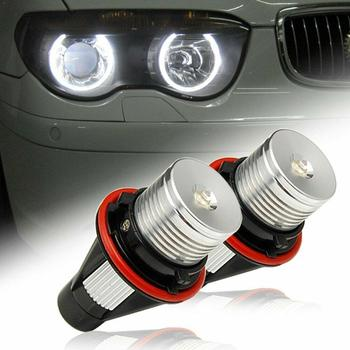 Car Angel Eyes Halo Ring Marker Light Led Headlight For BMW 5 E63 E64 Series 6000K E39 6 5W X5 1 E65 E60 7 E83 X3 E53 X2C5 image