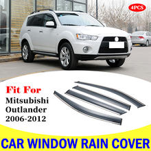 Чехол от дождя на окно автомобиля для mitsubishi outlander 2006