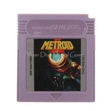 Für Nintendo GBC Video Spiel Patrone Konsole Karte Metroi 2 Englisch Sprache Version