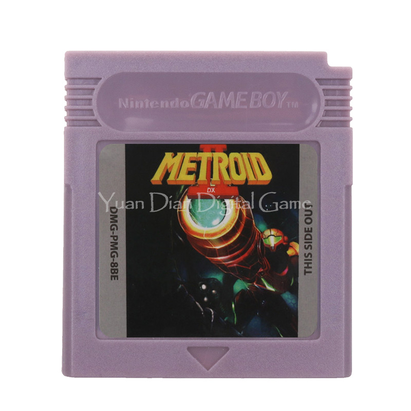 For Nintendo GBC Video Game Cartridge Console Card Metroi 2 English Language Version