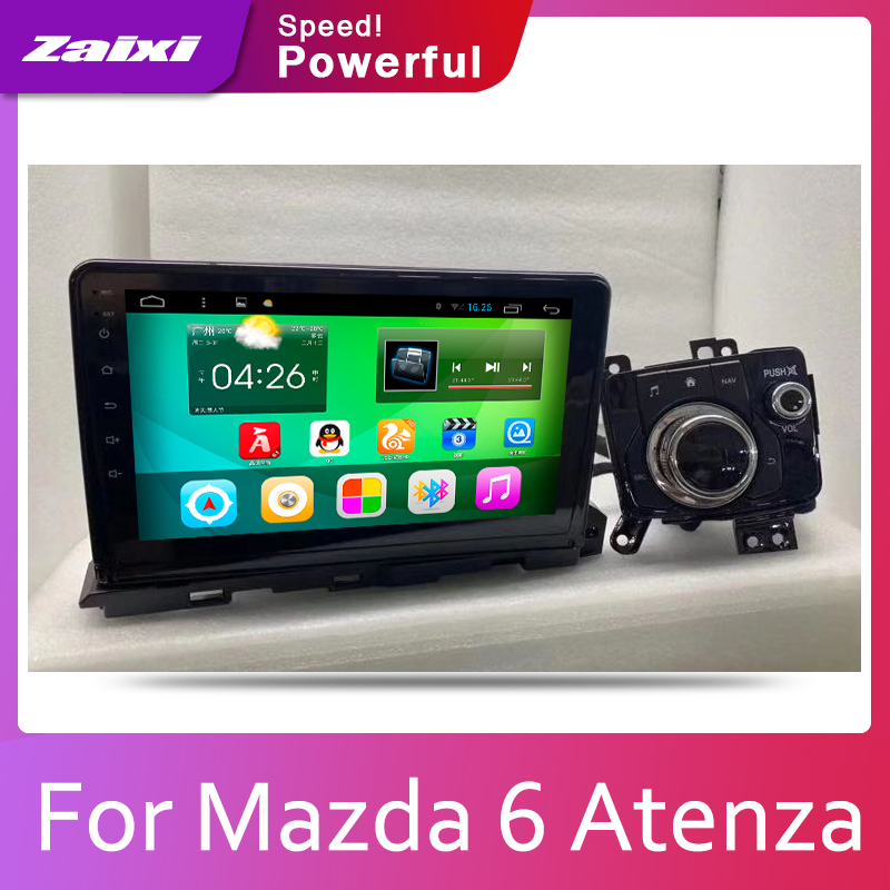Car multimedia <font><b>Android</b></font> Autoradio Car Radio GPS player For <font><b>Mazda</b></font> <font><b>6</b></font> <font><b>Atenza</b></font> 2019 Bluetooth WiFi Mirror link Navi image