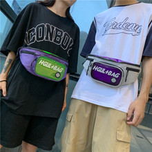 PVC+Oxford Coupons Waist Bags for Cards&Mobile High Quality Casual Belt Bag Chest Bag for Handsome Lady Man Leisure Waist Packs