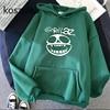 Gorillaz Skull  Funny Print Hoodie Kpop Korean Style Loose Sweatshirt Korean Fashion Hip Hop All-match Leisure Harajuku Hoodie 3