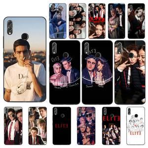 Yinuoda Spanish TV series Elite TPU black Phone Case Cover Hull for Huawei P20 30 Lite Honor 8A 8X 10 10Lite 10i 20i 7C Y5 Y6