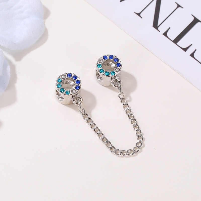 Colore argento mamma figlia openwork del fiore di farfalla baer patatine fritte arco perline fai da te fit pandora charms braccialetto per le donne dei monili W021