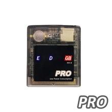 EDGB PRO Game Cartridge Card for Gameboy DMG GB GBC GBP Game Console Custom Everdrive Game Cartridge Power Saving Version professional portable for sega everdrive md cartridge