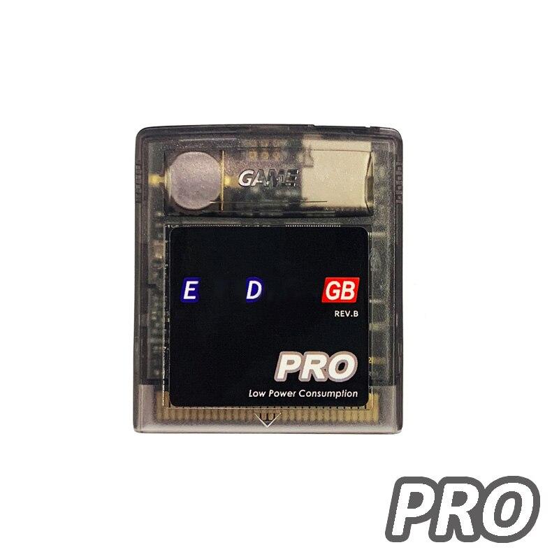 Edgb pro EZ-FLASH junior jogo cartucho cartão para gameboy dmg gb gbc gbp game console personalizado cartucho de jogo versão de poupança de energia