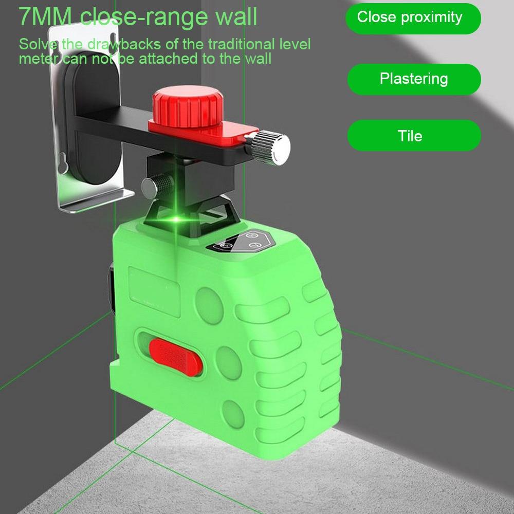 12-line Green Light Level 3D Self-Leveling 360 Horizontal and Vertical Cross Super Powerful Laser Beam Line Light Wall Meter