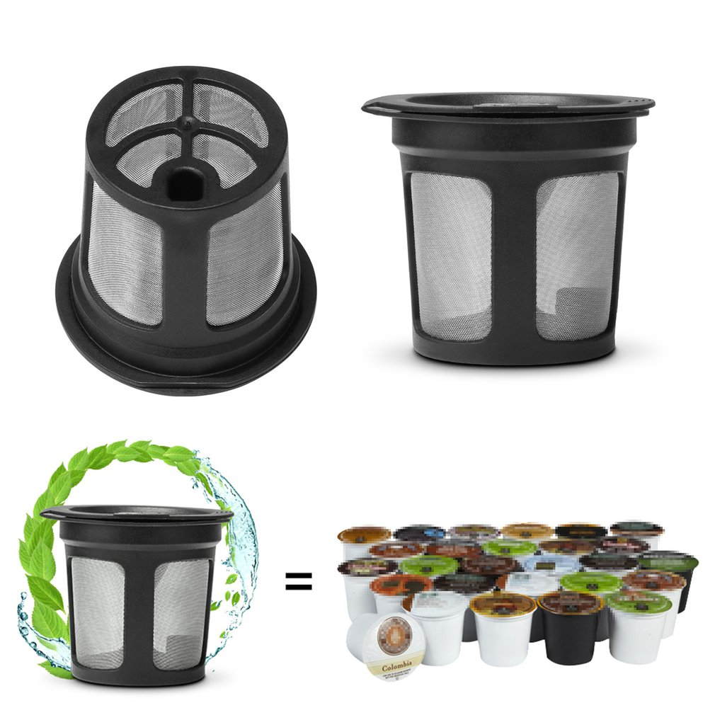 3шт многоразовые кофе фильтр сетка капсул чашки K корзины многоразовые капельницы для Keurig кофе машина аксессуары 2.0