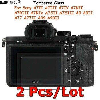 Protector de pantalla de vidrio templado para Sony, Protector de película protectora...