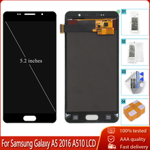Tft-Screen Lcd-Display A510 Samsung Galaxy Digitizer Glass-Assembly-Replacement for A510fd/A510f/A510m