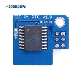цена на DS3231 Precision RTC Module Memory Module Real Time Clock Module I2C Pi RTC For Raspberry Pi 1 Pi 2 Pi 3 Pi Zero A+ B+ etc