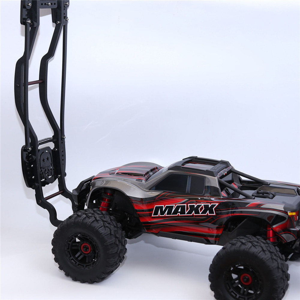 For 1//10 Traxxas MAXX RC Crawler Car Roll Cage Metal Body Shell Protective Frame