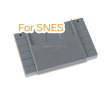 US Version Game Cartridge Plastic Shell 16 bit game card Housing case for SNES/S FC with 2 screws