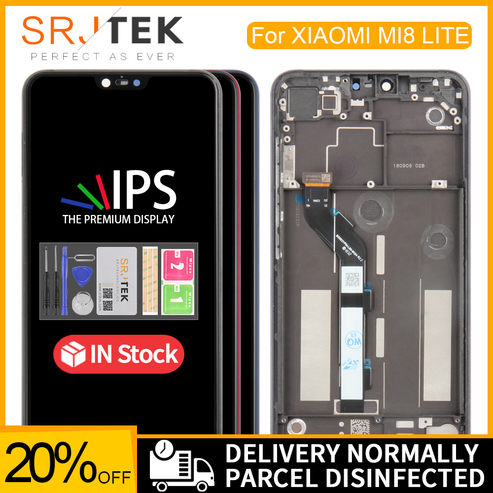 For <font><b>XiaoMi</b></font> Mi8 Lite LCD <font><b>Display</b></font> Matrix Touch For <font><b>XiaoMi</b></font> <font><b>Mi</b></font> 8X Screen Digitizer Sensor Assembly For Mi8 Youth <font><b>Display</b></font> Frame <font><b>Mi</b></font> <font><b>8</b></font> image