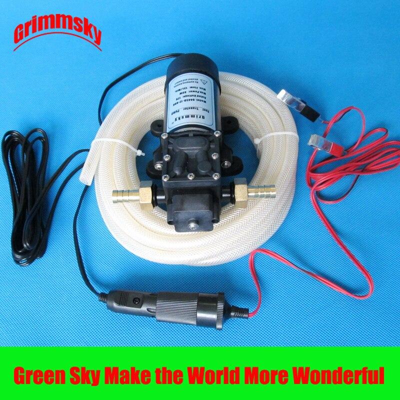 Flux maximum 13l/min dc 80w kits montés sur véhicule extracteur de pompe à huile 12v