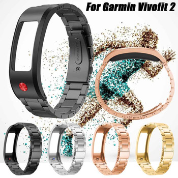 Stainless Steel Replacement Watch Band Strap Wristband For Garmin Vivofit 2 Quick Release Running Wrist Support Accessories