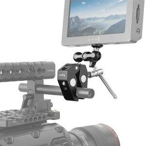 Image 2 - Smallrig Multi Functionele Krab Vormige Klem Met Balhoofd Arm Voor Dji Stabilizer/Freefly Stabilizer/Video C Stand Clamp Kit 2161