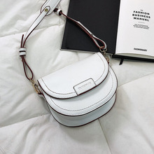 Female Saddle Crossbody Bags For Women 2020 Quality Pu Leather Luxury Handbags Designer Small Lady Sling Shoulder Messenger Bag