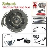 Schuck Tongsheng TSDZ2 36V/48V 250W 350W 500W Ebike Mid Drive Motor Torque Sensor EBike Mid Motor Kit with VLCD6/XH 18 Display