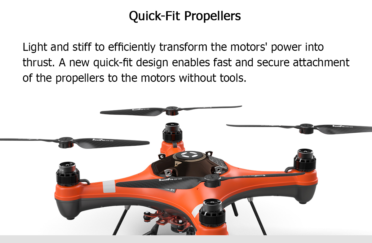 SwellPro 3+ Waterproof Drone GPS Automatic Return Quadcopter Professional Fishing Drone