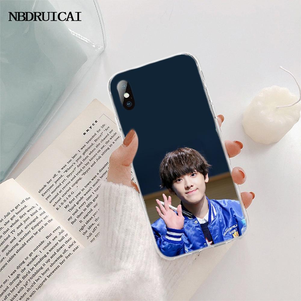 NBDRUICAI KPOP ASTRO w kształcie serca nowość etui na telefon dla iPhone 11 pro XS MAX 8 7 6 6S Plus X 5S SE XR okładka