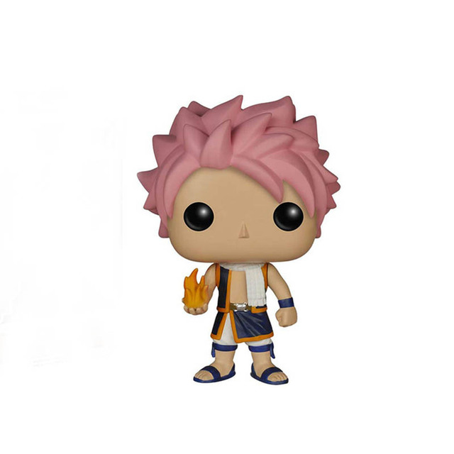 FUNKO POP FAIRY TAIL END 67# Gajeel 481# Anime Figure Model Dolls Decoration Toys for Kids Birthday Christmas Gifts 2