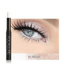 Focallure sombra vara 12 cores olho sombra lápis rosto olhos maquiagem caneta de longa duração à prova dtágua shimmer cosméticos ferramentas tslm1
