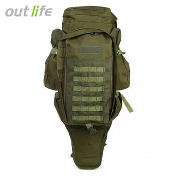 Outlife 60L Outdoor Backpack Military Tactical Bag Pack Rucksack for Hunting Shooting Camping Trekking Hiking Traveling - DISCOUNT ITEM  20% OFF All Category