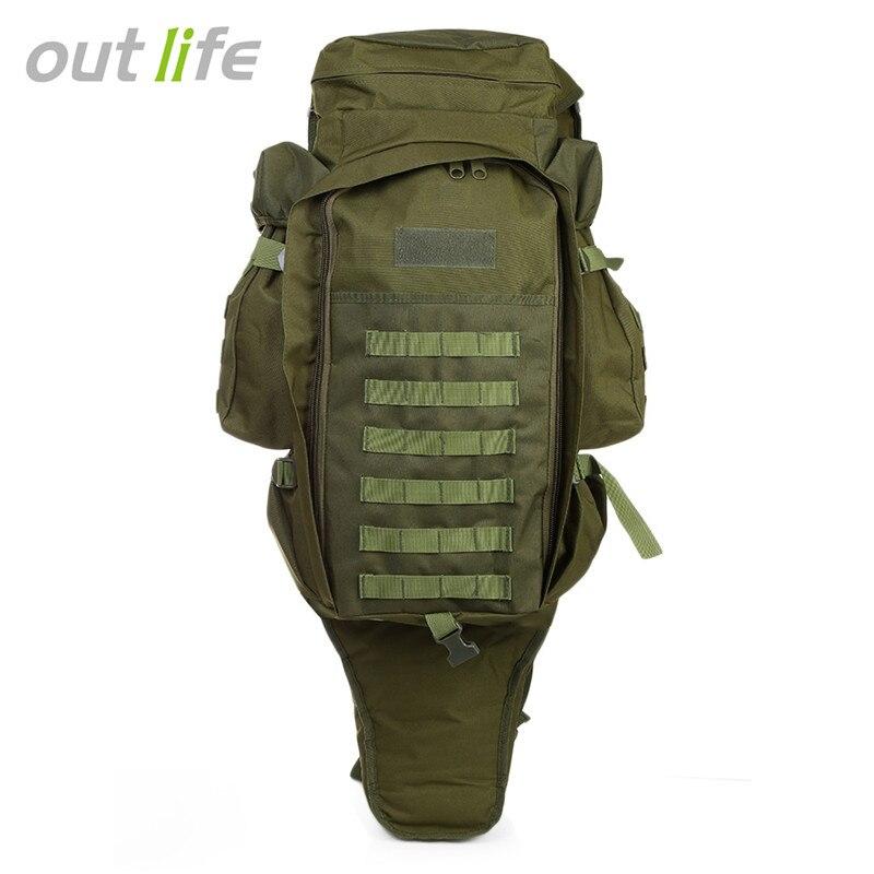 Outlife 60L sac à dos en plein air sac tactique militaire sac à dos pour la chasse tir Camping Trekking randonnée voyage