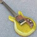 Высококачественная гитара на заказ  электрогитара Dan Armstrong из акрилового полимера  24 лада из акрилового полимера  бесплатная доставка