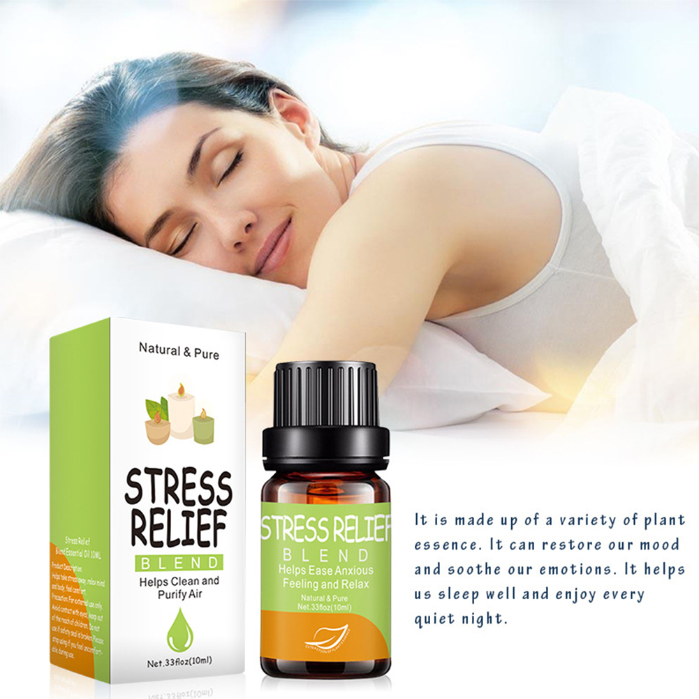 10 мл лечение ароматерапия чистый натуральный успокаивает эмоцию аромат эфирное масло Массаж Уход за кожей снятие стресса Релаксация дома