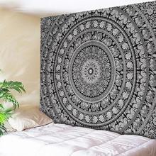 שטיחי קיר תלוי ההודי מנדלה שטיח רטרו Boho קיר שטיח חוף מחצלת נסיעות מגבת שמיכת יוגה מחצלות בית שטיח