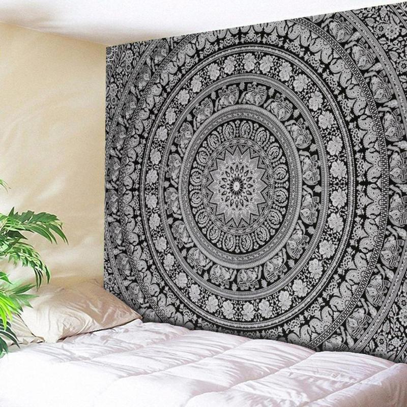 Wall Hanging Tapestries Indian Mandala Tapestry Retro Boho Wall Tapestry Beach Mat Travel Towel Blanket Yoga Mats Home Carpet