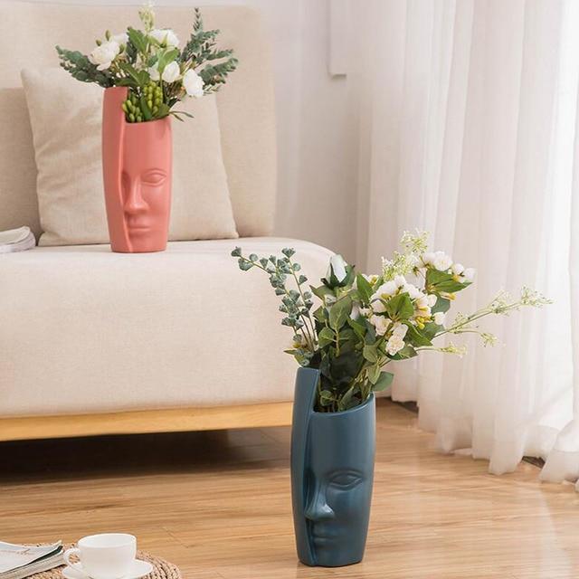 European Style Vase Decoration Home Decoration Anti-ceramic Plastic Vase Unbroken Wedding Hydroponic Flower Arrangement Modern 3